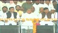 Mulayam Yadav, Shivpal Yadav send Samajwadi Party message of unity at Akhilesh's Rath Yatra