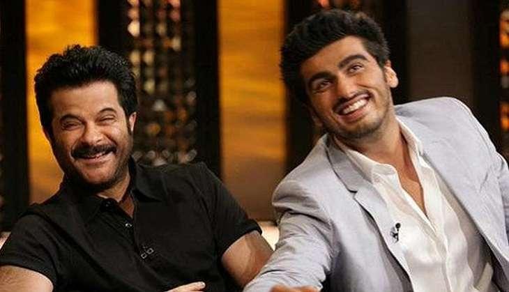 Anil Kapoor and Arjun Kapoor in Mubarakan