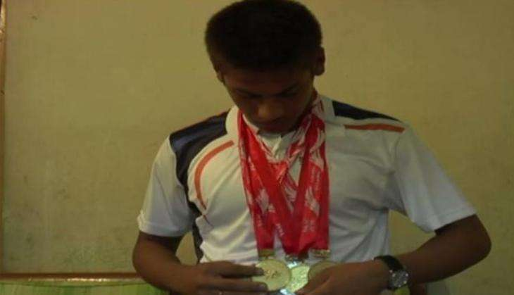 Assam's 15-year old boy bags five gold medals in South Asian Aquatic Championship