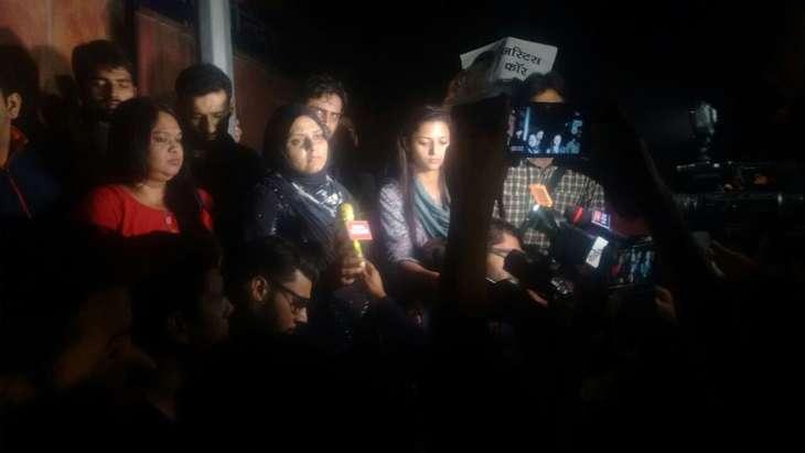 Najeeb sister speaks to media