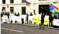 Exiled Baloch leaders protest against Pakistan China Economic Corridor in London
