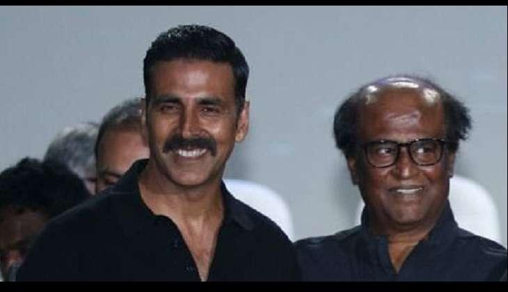 Akshay Kumar and Rajinikanth