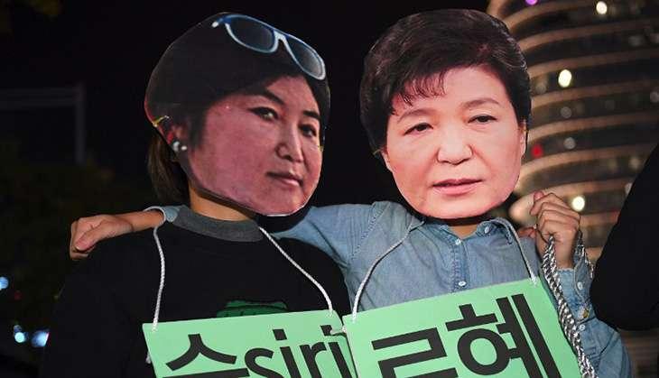 Park Geun-hye and Chio Soon-Sil