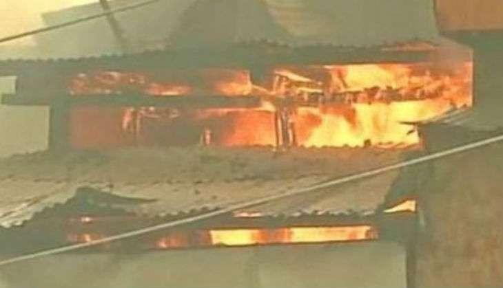 Kashmir-fire