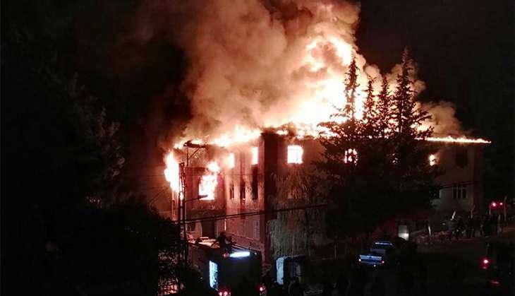 Turkey: Fire in dormitory kills 12 including 11 teenage girls, 22 others injured