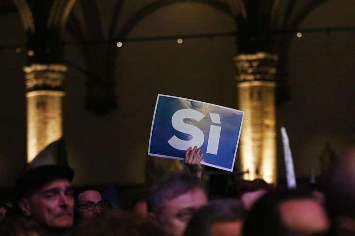 Italy referendum Chris Ratclife/Bloomberg/Getty Im
