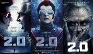 2.0 : Budget of Rajinikanth, Akshay Kumar starrer hiked to Rs. 400 crore, emerges 2nd costliest Asian film