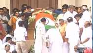Crowds pay tribute to Jayalalithaa at Rajaji Hall; Amma to be laid to rest beside mentor MGR