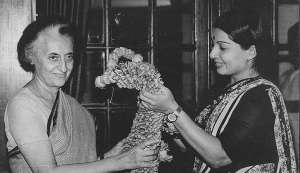 In pictures: Among the biggest political leaders, Jayalalithaa stood tall
