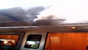 Delhi: Fire breaks out in stationary train at Patel Nagar metro station