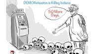 One month on from demonetisation and it's all jokes for metro citizens