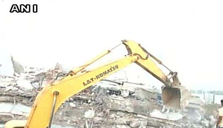 Hyderabad building collapse: 1 dead, 12 feared trapped; rescue operation underway