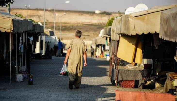 Refugee camp Gaziantep, southeastern Turkey AFP Ph