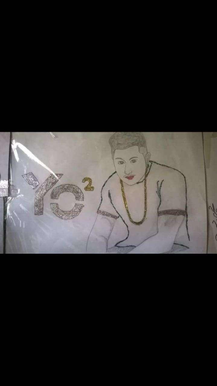 Sketches of Honey Singh
