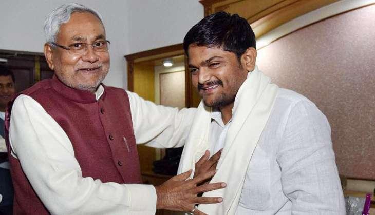 Patidar leader Hardik Patel met Bihar CM Nitish Kumar in Patna on Tuesday