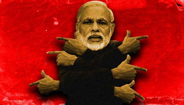 6 times Modi blamed others to defend himself
