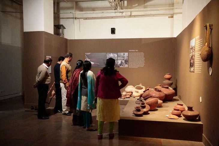 Living Lightly exhibition at IGNCA, New Delhi