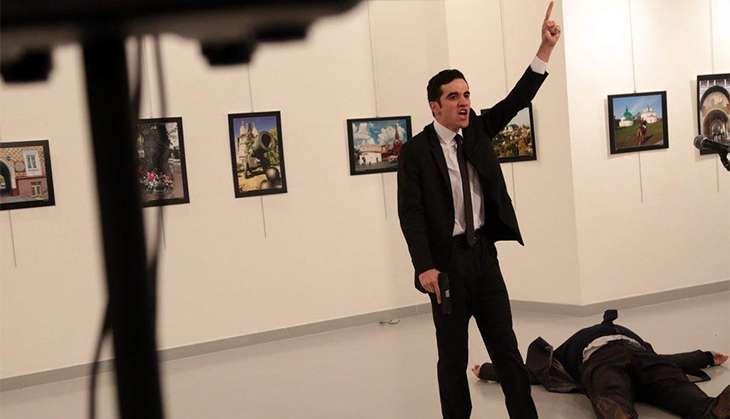 Russia ambassador to Turkey Andrey Karlov assassination
