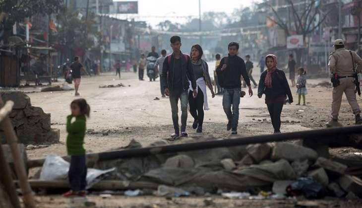 Manipur Blockade AFP Photo/Deepak Shijagurumayum