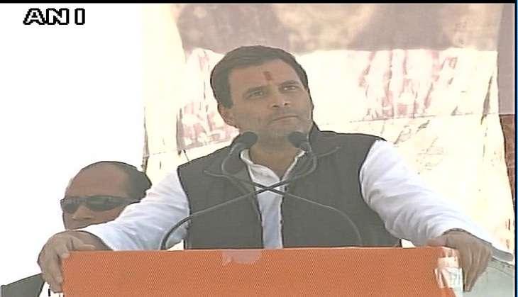 Demonetisation is economic dacoity: Rahul Gandhi in Almora