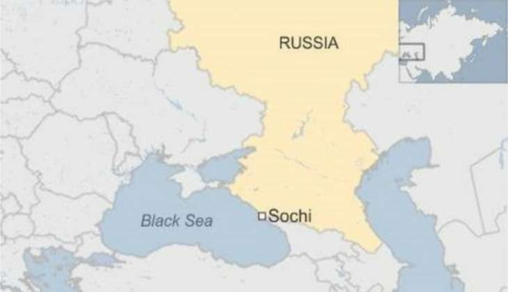 Russian military aircraft en route Syria crashes with 91 passengers on board