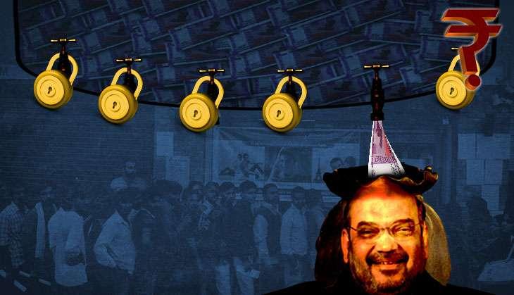 Amit Shah bank