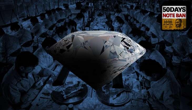 Diamond industry badly hit by demonetisation