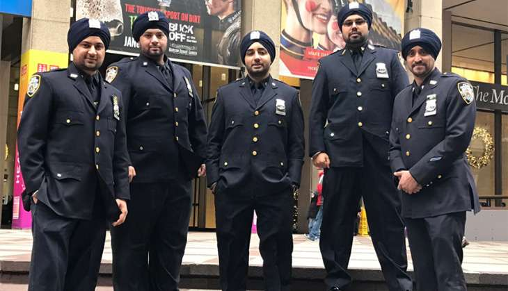 Sikh personnel in NYPD will now be allowed to don turbans, sport facial hair