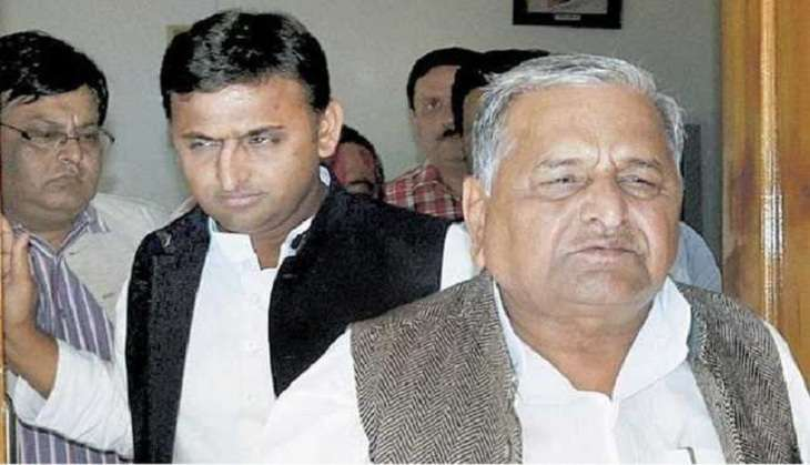 Samajwadi Pari'war':Mulayam accuses Akhilesh camp of trying to split the party