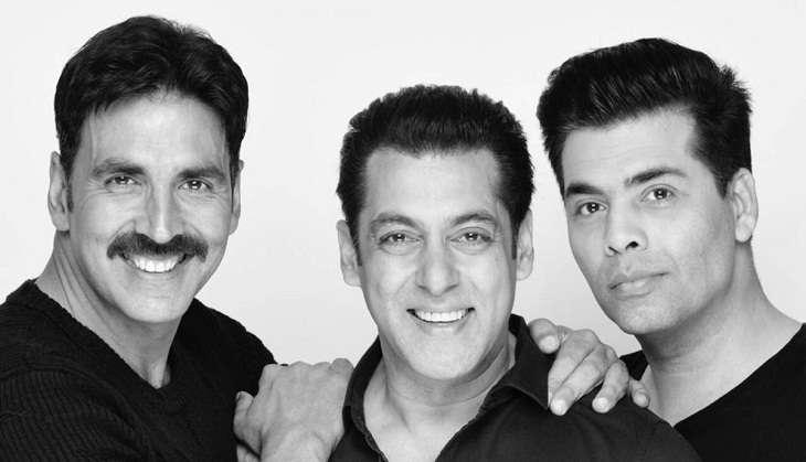 Salman Khan, Akshay Kumar and Karan Johar team up