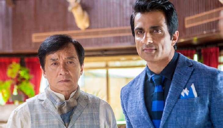 Jackie Chan and Sonu Sood in Kung Fu Yoga