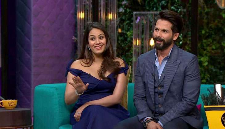 Koffee with trouble: Shahid Kapoor-Mira Rajput sell a flawed 'baby = love' logic