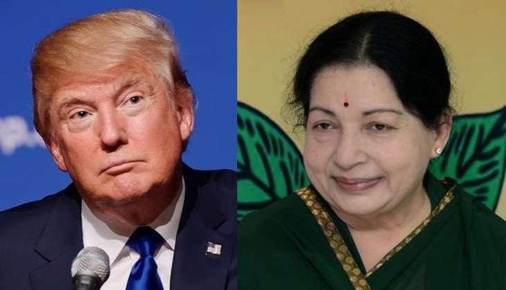 Jayalalithaa and Donald Trump