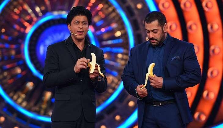 Salman Khan and Shah Rukh Khan on Bigg Boss