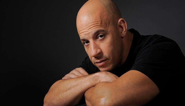 Vin Diesel in India for xXx: Return of Xander Cage promotions