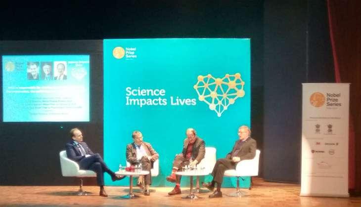 Nobel Laureates Serge Haroche, William Moerner, Harold Varmus speak at Nuobel Prize Series in Delhi on Thursday