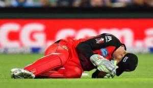 वीडियो: बल्लेबाज ने मारा शाॅट, विकेटकीपर का जबड़ा टूटा